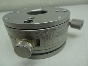 Newport Tr80bl Precision Rotation Stage Rotary Mount Optical Laboratory c