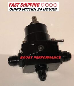 Billet Adjustable Fuel Pressure Regulator Efi Boost 8an 6an An8 E85