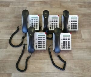 Lot Of 5 Shoretel Ip115 Voip Phones With Stand Headset Free Shipping
