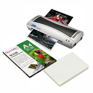 220v A4 Laminator Hot cold Roll Laminating Machine 100 Sheet 3r Laminating Film