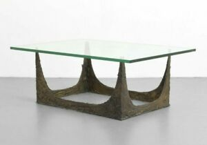 Mid Century Modern Paul Evans Signed Brutalist Stalagmite Coffee Table 60s Eames
