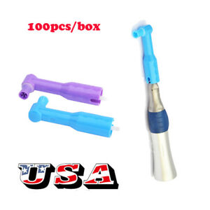 Us 100pcs Disposable Dental Prophy Angles Soft Polishing Cup Latex Free Hygienst