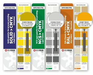 Color Guide Uncoated For Pantone Ncs And Ral Colors In Digital Printing