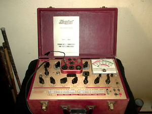 Hickok 6000a Micromho Dynamic Mutual Conductance Tube Tester