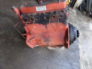 Case Sc Serial 5416624 Tractor Complete Motor Runs Great