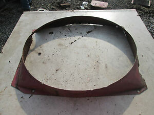 Farmall 656 Tractor Fan Shroud
