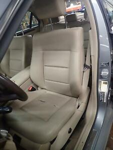 10 Mercedes E350 Left Front Driver Seat Sedan Gasoline Leather Heated Memory