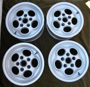 Porsche 944 951 Turbo 16 Rims Wheels Staggered Set 7 8 Wide Phone Dial W caps
