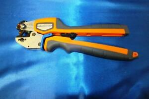 Thomas Betts Tbm45s Colorkeyed Crimping Tool Made In Sweden