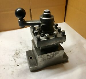 Dseiki 4 way Indexing Turret Lathe Tool Post Holder 7 3 4 X 5 x 1 1 4 Base