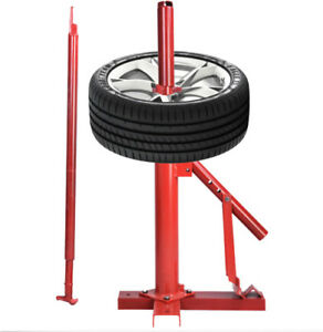 Universal Manual Portable Hand Tire Changer Tire Tools Red Home Shop Adjustable