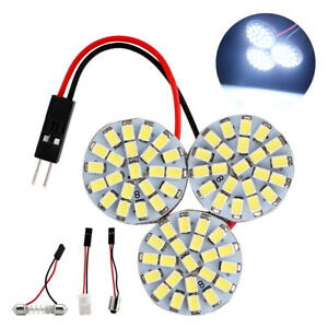 100pcs T10 ba9s festoon 66smd 1206 Led Light Car Interior Panel Lights Dome Bulb