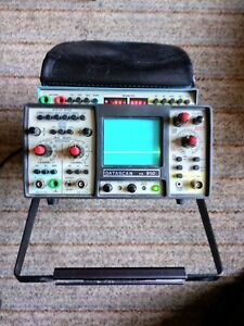 Datascan Vu data Portable Oscilloscope Model Ps950 Manual Cables Accessories