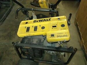 Used 429982 10 Rear Cover For Dg4300 Dewalt Generator picture Is Of Entire Tool