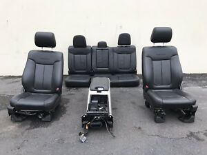 2013 Ford F150 F 150 Platinum Crew Cab Seats Power Heated Cooled