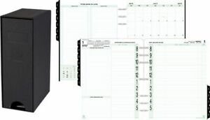 2 page per day Original Planner Refill With Storage Folio Size