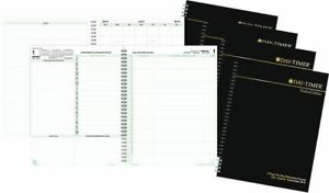 2 page per day Reference Planner Refill With Storage Notebook Size