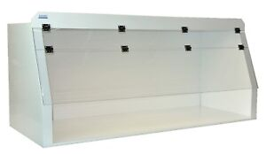 Cleatech Polypropylene 48 Ducted Fume Hood W Worksurface 6 Duct Port