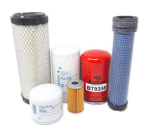 Kubota L4600hst L4600 Hst Tractor Filter Kit include Hst Filter