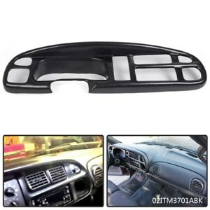 For 98 01 Dodge Ram 1500 2500 3500 Pickup Truck Dashboard Bezel Cover Lay