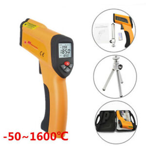 Digital Non contact Infrared Ir High Temperature Infrared Thermometer Laser Gun