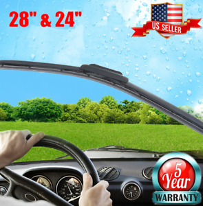 28 24 Inch Oem Quality Premium Bracketless J Hook Windshield Wiper Blades