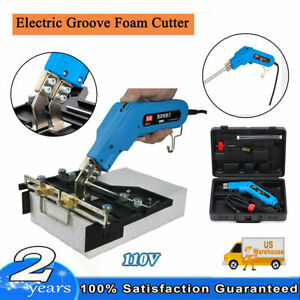 12pcs set Groove Foam Cutter Cutting Slot Knife Tools Grooving Electric Heating