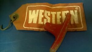 Western Snow Plow Cable Pump T Stick Lever Marker Flag Snowplow