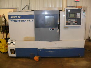 Used Mori Seiki Frontier Lii Cnc Turning Center Lathe Tailstock 10 Chuck 1996