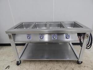 Servolift 4 bay Electric Steam Table 62 Wide 501 4