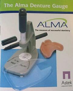 The Alma Denture Gauge Lab Supplies Dental Gauge