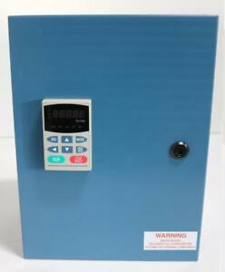 Delta Electronics Vfd007b21a Variable Frequency Drive In Hammond Enclosure