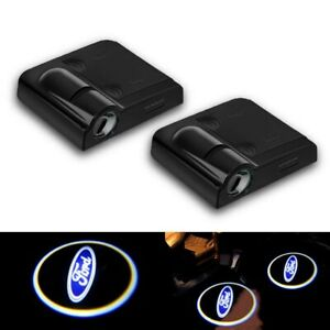Led Car Door Welcome Laser Projector Logo Courtesy Ghost Shadow Light For Ford
