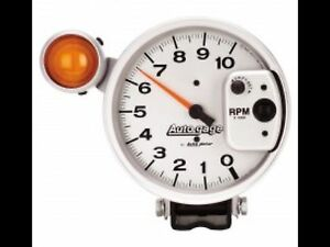5 Silver Shift Light Tach 10 000 Rpm Autogauge