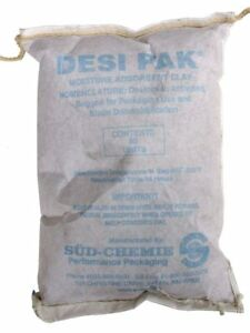 30 Pack String Sewn Clay Desiccant Packets 8 75 X 12 5 Tyvek Paper Packs