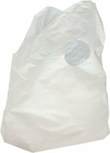 500 Pack Super Wave Top Carry Out Bags 16 X 16 8 Plastic Restaurant