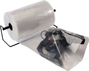 Poly Tubing On Roll 24 X 750 Clear Polyethylene Packaging For Heavy Weight