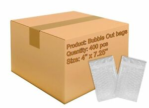 400 Pack Of Bubble Out Bags 4 X 7 5 Self sealing Packing Moving Bags Pouches