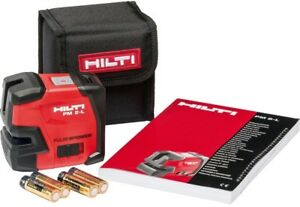 Hilti Pm 2 l Line Laser Level Measure Layout Hand Tool Indoor outdoor