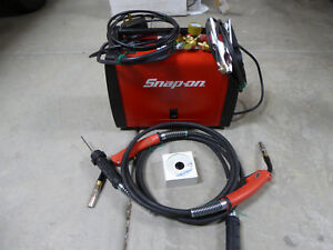 Snap on Mig185i Synergic Inverter Mig Welder With Aluminum And Steel Torches