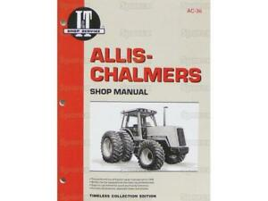 Allis chalmers 8010 8030 8050 8070 Tractor Shop Service Manual Book I