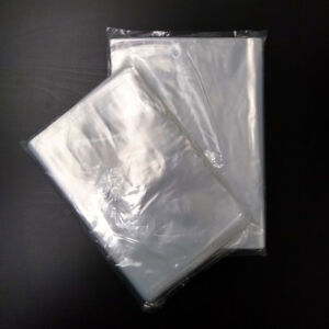 Clear Poly Bags Large Small Plastic Packaging Open Flat Packing T shirt Apparel