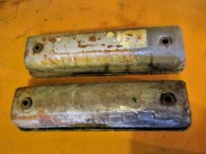 1954 Ford Pickup Truck Y Block Valve Covers Ratrod