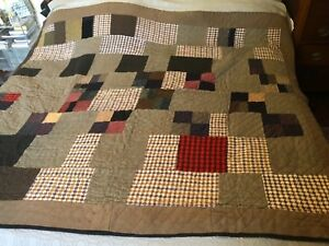 Antique Quilt Wool Suiting Fabrics 80 X 70