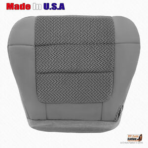 2000 To 2003 Ford F150 Xlt Driver Bottom Cloth Seat Cover Dark Graphite Gray