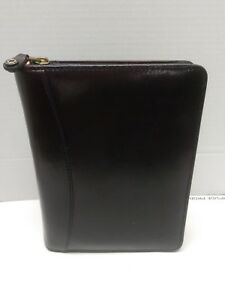 Classic 1 5 Gold Rings Burgundy Leather Franklin Covey Planner Binder Made Usa