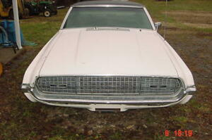 1968 Ford Thunderbird Parts Bumpers pick Any Part Chrome Bright Work