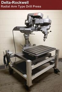 Delta Rockwell Radial Arm Drill Press