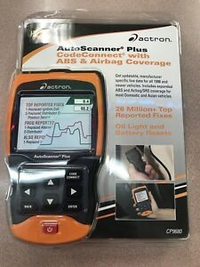 New Actron Cp9680 Autoscanner Plus Codeconnect Abs Airbag