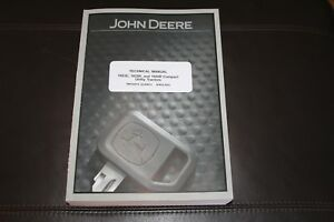 John Deere 1023e 1025r 1026r Compact Utility Tractor Service Manual Tm126919